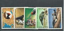 Korea 1978 Woodpecker Reservation SGN1777-81 mnh