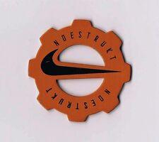 NIKE vintage NDESTRUKT shoe tag metal collectible