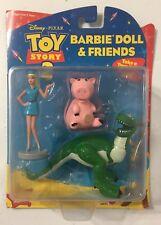 Mattel Disney Toy Story 2 Barbie Doll Friends Set Action Figure Ham Rex