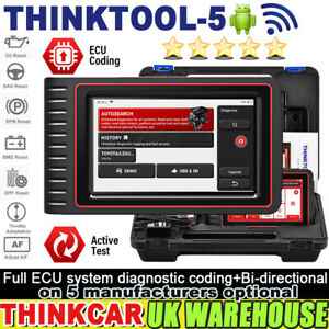 THINKCAR THINKTOOL-5 OBD2 Scanner Auto Diagnostic Tool FULL System IMMO TPMS EPB