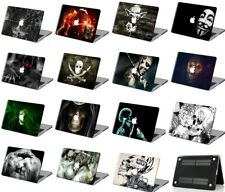 Halloween Night Scary Skull Rubberized Hard Case Cover For New Macbook Pro Air