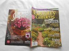 COUNTRY GARDENS Magazine-SPRING,2014-SPRING FAVORITES-WITCH HAZELS-DAFFODILS