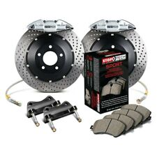 Stoptech 937.40020 Street Axle Pack Front Slotted