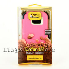Otterbox Defender Hard Case Cover w/Belt Clip for Samsung Galaxy S6 Pink/Green
