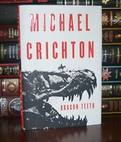Dragon Teeth by Michael Crichton New Deluxe Hardcover