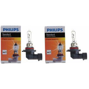 2 pc Philips High Beam Headlight Bulbs for Pontiac 6000 Aztek Bonneville pw
