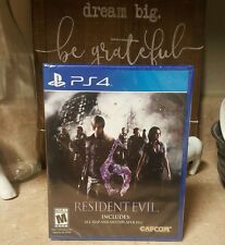 Resident Evil 6 Game Sony PlayStation 4 PS4 BRAND NEW Includes All DLC RE6 HD