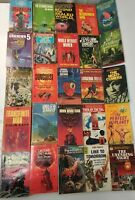 Lot of 34 vintage Science Fiction Paperbacks~McIntosh~Nourse~Shaw~Garnett~Smit..