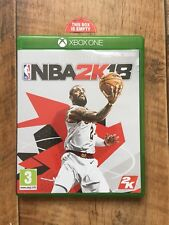NBA 2K18 2018 EMPTY CASE Xbox One Replacement case Box No Game