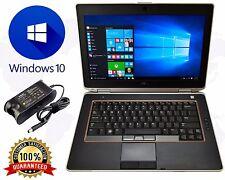 """DELL LAPTOP Core i5 WINDOWS 10 PRO LATITUDE E6420 DVDRW 8GB 128GB SSD 14"""" WIFI"""