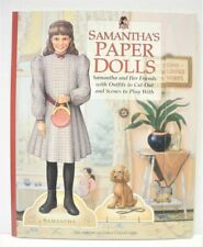 2003 The American Girls Collection SAMANTHA'S PAPER DOLLS Book