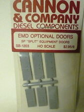 "Cannon & Company 1203 EMD Optional Equipment Doors for ""split"" SP style unit (6)"