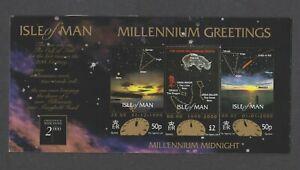 Isle Von Mann - 1999, Neu Millennium Souvenir Ordner - Selbstklebend