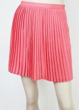 Chiffon Above Knee Pleated Solid Skirts for Women