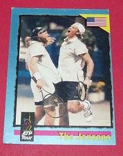 ATP TOUR CARD TENNIS 1995 THE JENSENS LUKE MURPHY USA PANINI CARDS