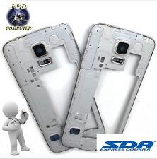 Middle Frame Telaio Cornice Centrale Samsung Galaxy S5 G900f Silver Originale