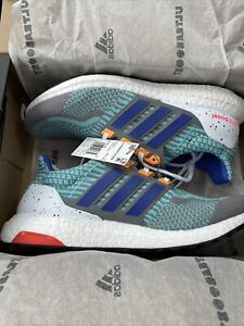 adidas Mens ULTRABOOST 5.0 DNA Grey/Sonic Ink Size 10.5 MSRP $180