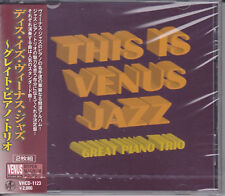 """This Is Venus Jazz - Great Piano Trio"" Japan Venus Records Audiophile 2-CD New"