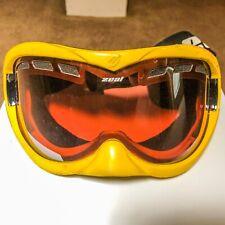 Zeal Optics Yellow Goggles - Extreme Sports - Snowboarding Ski Skiing Motocross