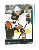 2018-19 UPPER DECK #239 TROY TERRY YG RC UD YOUNG GUNS ROOKIE DUCKS