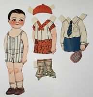 "Vintage Paper Doll ""Paul"" Dolly Dingle Friend"