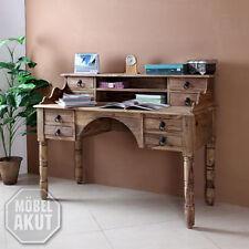Sekretär Bombay 6040 Schreibtisch Massivholz Sheesham Natur von Wolf Möbel