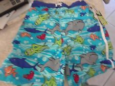 MICK MACK BOYS OCEAN FUN BLUE BOYS BATHING SUIT SIZE 7 NEW