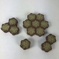 Lot of 27 Heroscape Terrain Sand One, Two, Three, Seven Hex Tiles