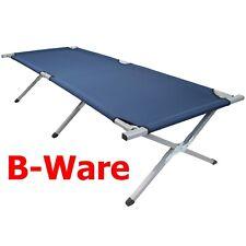 Feldbett Stahl XXL 200 / 210 x 70 x 52 cm von BB Sport Blau * B-WARE