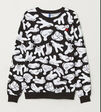 Mickey mouse Glove Printed sweatshirt Medium Tracksuit LOUD PATTERNED