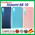Cover Of The Battery For Xiaomi Mi 10 Rear Cover Back Black Lilac Blue