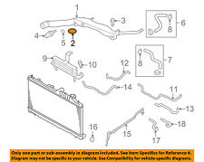 SUBARU OEM 03-16 Forester 2.5L-H4 Radiator-Water Manifold O-ring 806933010