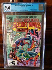Marvel Super Heroes Secret Wars #3High Grade CGC 9.4 NM X-men Spider-man MARVEL