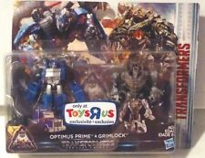Transformers The Last Knight TRU Exclusive Optimus Prime & Grimlock 2-Pack MISB
