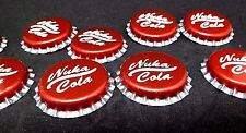 Fallout 4  8 x Nuka cola caps (old and new looking) not paper