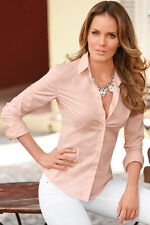 Women Lady Girls Work Office Loose Long Sleeve Work Shirt Blouse Tops Dress