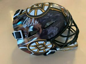 Tuukka Rask Boston Bruins Signed Autographed Bruins Mini Goalie Mask
