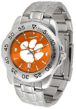 Clemson Tigers Womens & Mens Sport AnoChrome Steel Watches