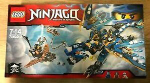 LEGO 70602 Ninjago Jay's Elemental Dragon 35 pieces Rare Retired ~NEW~