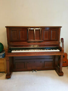 Pianola - 65 Note Angelus Player Action Inside A Brinsmead Upright Piano