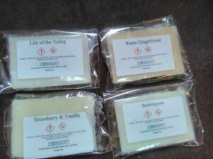 Wax Melts Handmade Soy Wax melts highly scented mini snap bars Fragrances