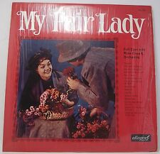 "MY FAIR LADY Full Cast with Russ Case & Orchestra LP Album 12"" 33rpm Vinyl VG"