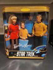 Barbie & Ken 1996 Star Trek 30th anniversary collector edition gift set Nrfb!