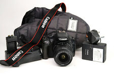 Canon EOS 550D DSLR Camera + Canon EF-S 18-55mm IS II Lens Kit with Grip + VG