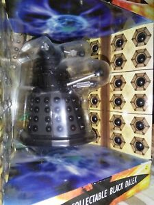 "Doctor Who Rare Diecast 5"" Black Dalek Boxed"