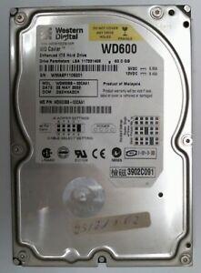 80GB Ide Western Digital WD600BB-00CFC0 Hard Drive #W60-849