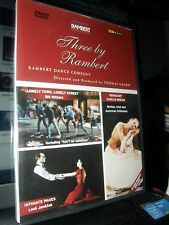THREE BY RAMBERT - Rambert Dance Company GRIMM THOMAS - PAL REGION 2,5 DVD
