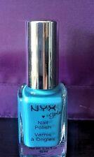 NYX Girls Nail Polish NGP110 - Hot Blue Nail Lacquer 0.35 fl. oz / 10ml NEW