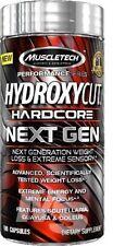 MuscleTech Hydroxycut Hardcore Next Gen Fat Burner 100 caps