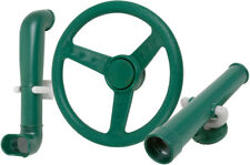 SWING SET STUFF PERISCOPE TELESCOPE AND STEERING WHEEL KIT GREEN play fort 0240